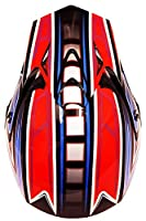 Fuel Helmets SH-OR3016 Graphic Off-Road Helmet, Multicolor, Large from Fuel Helmets