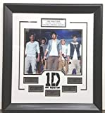 One Direction Framed Photograph with facsimile autographs of Niall Horan, Liam Payne, Harry Styles, Louis Tomlinson, Zayn Malik