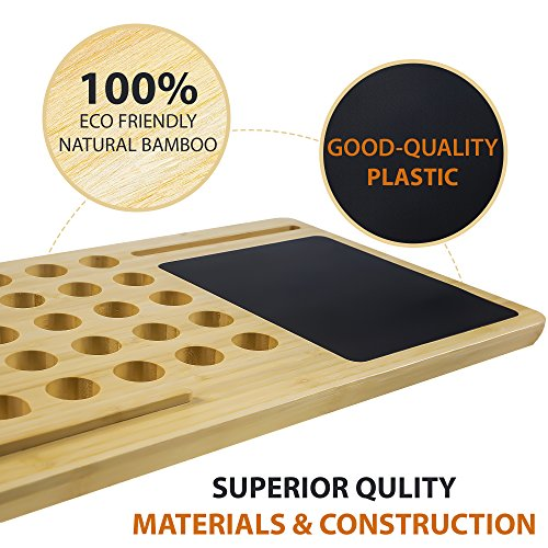 fa39806c370f high-quality Bamboo Eco Premium Bamboo Lap Desk - Portable Laptop ...