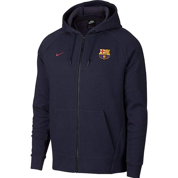 Nike Herren Fc Barcelona Authentic Jacke: : Bekleidung