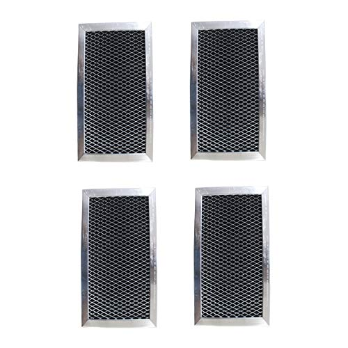 - Replacement Carbon Filters compatible with GE: WB06X10823, WB02X11124, JX81J Samsung: DE63-00367E (4-Pack)