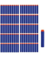 Darts pijlen voor N-Strike, 7,2 cm navulling Bullets pijlen navulverpakking darts voor N-Strike Elite Blasters speelgoedpistool, 100 stuks
