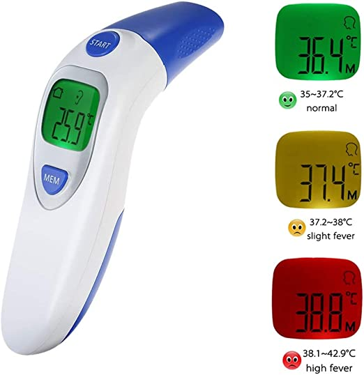 Digital Forehead and Oral Thermometers
