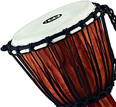 Meinl Percussion HDJ4-M Nile Series Headliner Rope Tuned Djembe, Medium: 10-Inch Diameter by AOHY9
