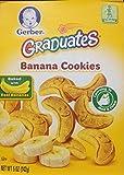 Gerber Graduates BANANA COOKIES 5oz. (Pack of 9)