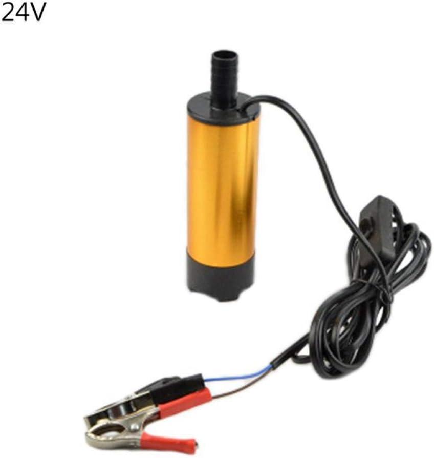 LZDLL Herramienta Filtro de CC con Filtro de CC Bomba Sumergible de 12 V / 24 V Herramienta de Bombeo de Bombeo de Aceite Diesel