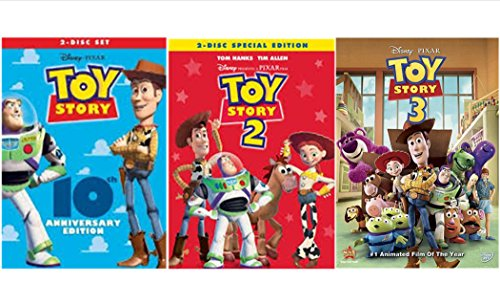 Toy Story Trilogy: Toy Story / Toy Story 2 / Toy Story 3 (5 Disc Edition) (Story Toy 3d Collection)
