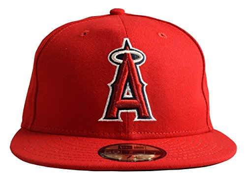 (New Era 59FIFTY Los Angeles Angels of Anaheim 2018 Authentic Collection On Field Game Cap 7 3/4)