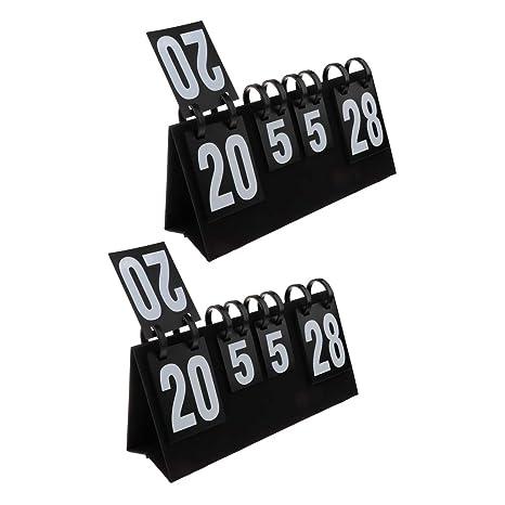 B Blesiya 2 Piezas Marcador de Baloncesto Material para ...