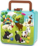 The Piggy Story 'Doggie Diary' Double Decker Handled Bento Lunch Box for Kids
