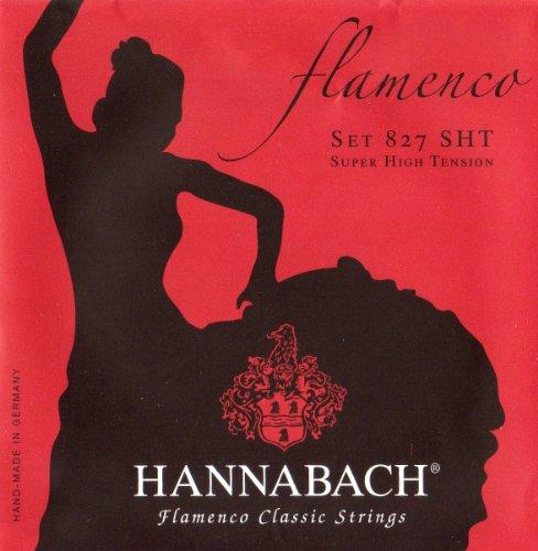 Hannabach Classical Guitar Flamenco Guitar Super High Ten...