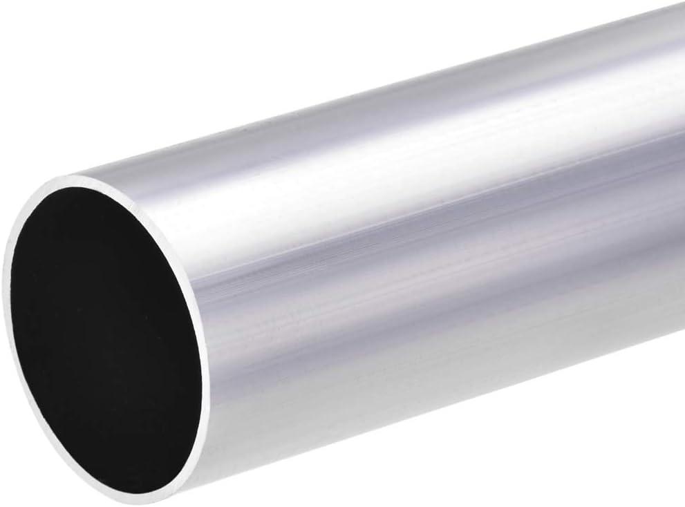 sourcing map 6063 Aluminio Redondo Tubo 300mm Longitud 12-13mm OD Seamless tubos rectos de aluminio ID de 11 mm x 13 mm de di/ámetro exterior