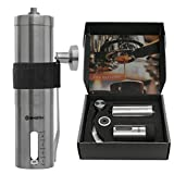 Premium Quality Stainless Steel Manual Coffee Grinder - Portable...