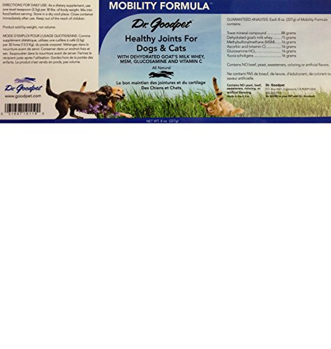 Picture of Dr. Goodpet Mobility Formula - All Natural Effective Hip & Joint Pain Relief