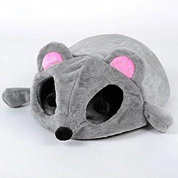 panier chat en forme de souris
