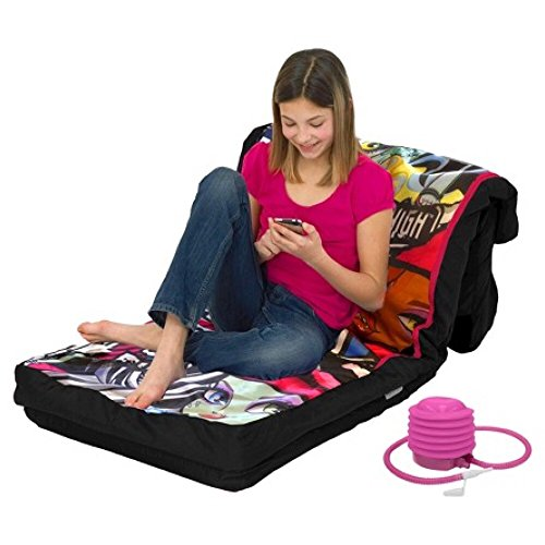 Monster High Inflatable Sleeping Bed - Slumber Bag, Slip ...