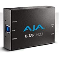 AJA U-TAP HDMI Simple USB 3.0 Powered HDMI Capture