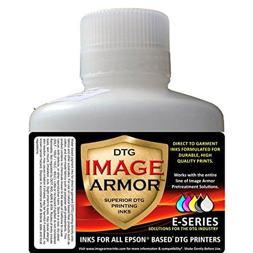 Image Armor DTG Garment Printer Ink , Liter , White by Garment Printer Ink