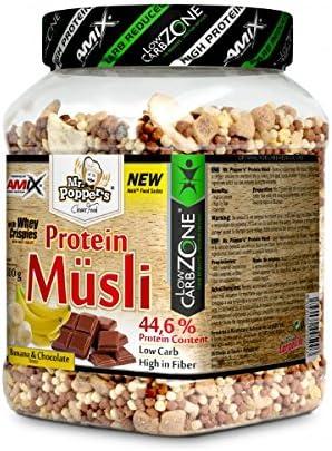 Mr Popper`s Protein Musli - 500 gr Chocolate - Coconut ...