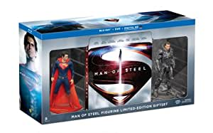 Man of Steel Collectible Figurine Limited Edition Gift Set (Blu-ray + DVD + Ultra Violet Combo)