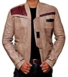 Star Wars Costume Jacket For Men - Finns Jacket Leather Merchandise (XS) [RL-Finn-Be-XS]