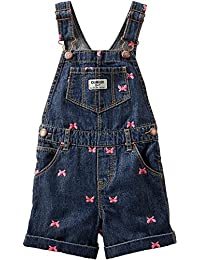Carters Baby Girls Schiffli Butterfly Shortalls