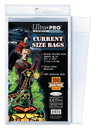 Ultra Pro Comic Bags (Ultra PRO Current Size 6-7/8 x 10-1/2