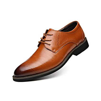 f05a336a17b5b Amazon.com: Men's Shoes, New Leather Dress Shoes, Spring Fall ...