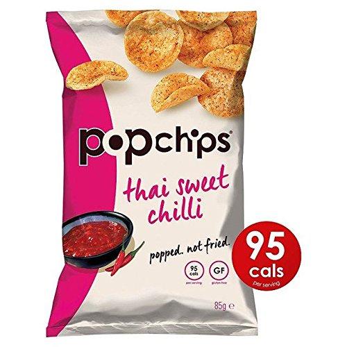 Popchips Thai Sweet Chilli Popped Potato Crisps 85g