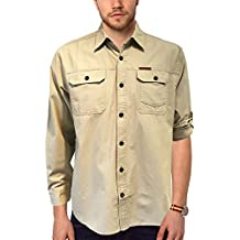 Field & Stream Original Outfitters Brushed Poplin Long Roll-Up Sleeves Shirt