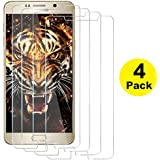 Galaxy Note 5 Screen Protector, (Super Value 4 Pack) Taken One Tempered Glass Screen Protector for Samsung Galaxy Note 5 [ Case Friendly ]