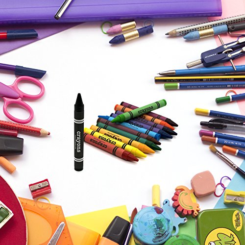 Emraw Premium Crayons 16 Color for Kids of All Ages - Great for Home & School Etc. (2-Pack)