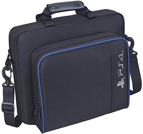 Carrying Case for PS4, New Travel Storage Carry Case, PlayStation Protective Shoulder Bag Handbag for PS4 PS4 Pro/Slim System Console and Accessories 1