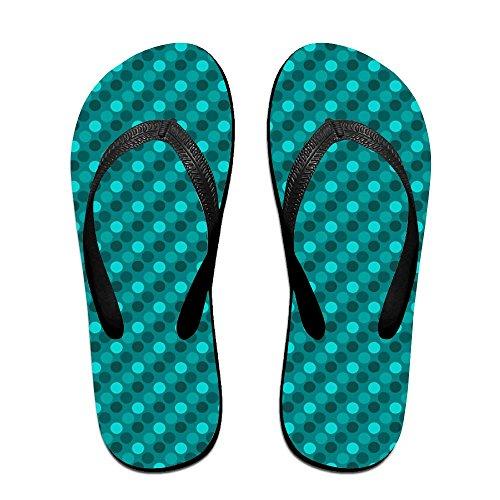 Slipper Black Sandals Slip Flip Dot Spa Thong Blue Couple Chic Print Gradient Polka Slippers Unisex Non Flops Rubber dvxqSU