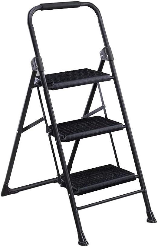 Taburetes escalera Escalera del hogar Plegables Escalera de Tres ...