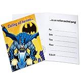 : Batman The Dark Knight Invitations, 8ct
