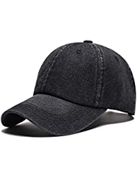Denim Baseball Cap Adjustable Classic Caps Sports Casual Hat Clearance