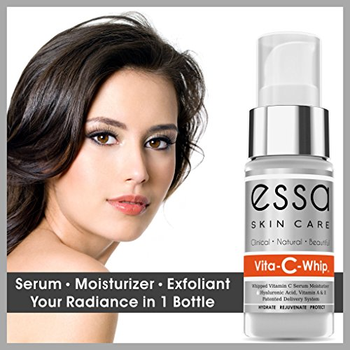 Essa Skin Care Vita-C-Whip, Whipped Vitamin-C Moisturizing Serum with Vitamin A and E, Hyaluronic Acid and Green Tea Extracts for Skin 5