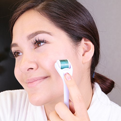 Derma Roller By Kagera - A Beauty Enhancing Titanium Microneedle Facial Roller Boosts Collagen Regeneration Exfoliates & Energizes Your Skin - Because You Deserve To Look Your Best by Kagera (Image #5)