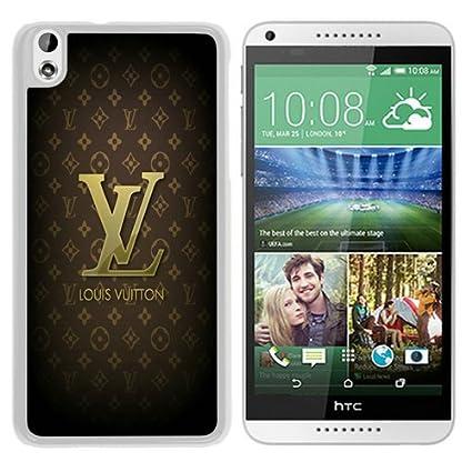Amazon.com: HTC Desire 816 Case,Brown-Louis-Vuitton-Logo-And ...
