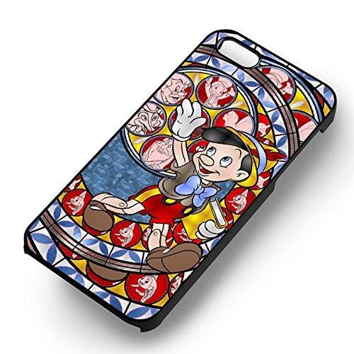 Pinokio pour Coque Iphone 6 et Coque Iphone 6s Case (Noir Boîtier en plastique dur) U0M3MT