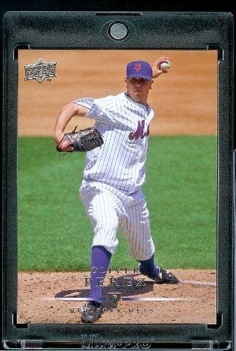 (2008 Upper Deck # 571 Oliver Perez - Mets - MLB Baseball Trading)
