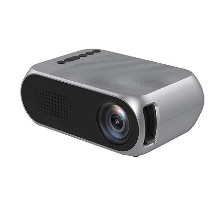kashyk - Mini proyector portátil (1080p, proyector de vídeo 3D ...