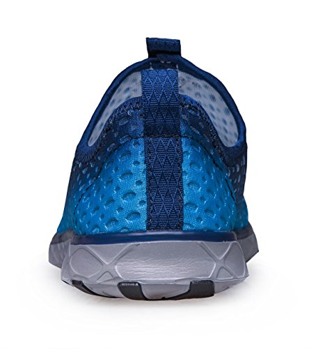 Schnell trocknende Aqua-Wasser-Schuhe der Zhuanglin Männer Blau 035