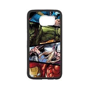 Samsung Galaxy S6 Phone Case White Marvel comic NJY8738527