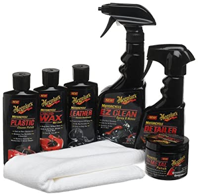Meguiar's G55033 Motorcycle Care Kit from Meguiar's