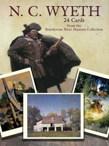 N. C. Wyeth: 24 Cards (Dover Postcards)