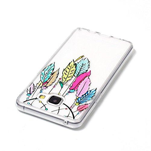Funda Galaxy A3 2016 A310F,SainCat Moda Alta Calidad suave de TPU Silicona Suave Funda Carcasa Caso Parachoques Diseño pintado Patrón para Carcasas TPU Silicona Flexible Candy Colors Ultra Delgado Lig Campanula