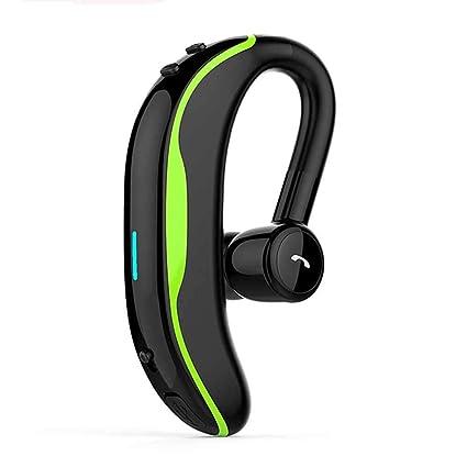 QUANYI Auriculares Bluetooth Inalámbricos De Un Solo Oído, V4.1, Larga Espera,