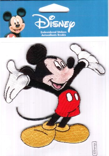 EK Success Disney Mickey Mouse Embroidered Sticker $3.99 Retail